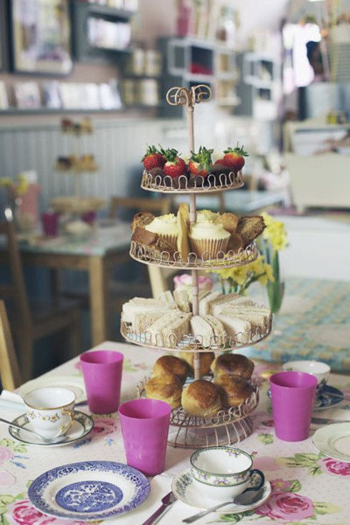 """Sure, they do a marvellous traditional afternoon tea, but what makes Bake-a-boo really stand out is their """"sensitive"""" menus. There is a gluten- and dairy-free menu, a dairy-and-egg free menu, and a sugar-free menu. Wonderful!"""