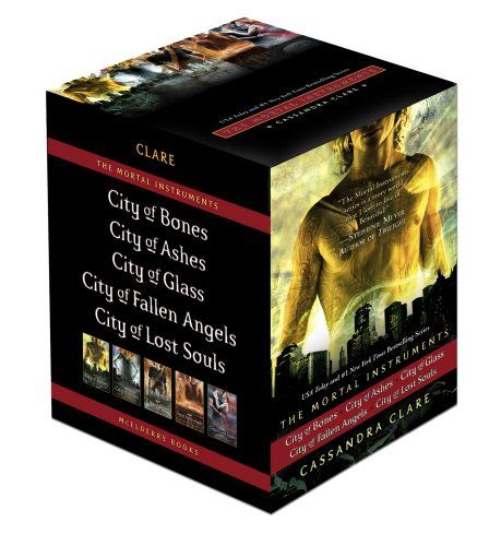 The Mortal Instruments: City of Bones; City of Ashes; City of Glass; City of Fallen Angels; City of Lost Souls (Mortal Instruments, The)