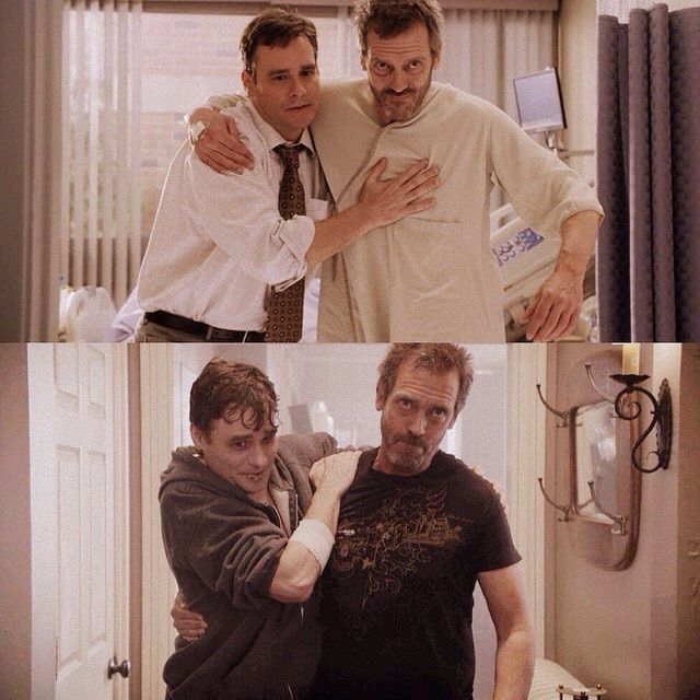 Wilson and House, like Butch and  Sundance, Merry and Pippin, and Rick and Daryl, a friendship :)