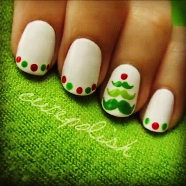 Mejores 107 imágenes de Holiday Nail Art en Pinterest | Uñas bonitas ...