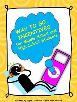 Incentives for Middle School and High School Students is a great behavioral management system.  Right Down the Middle with Andrea http://www.teacherspayteachers.com/Store/Right-Down-The-Middle-With-Andrea