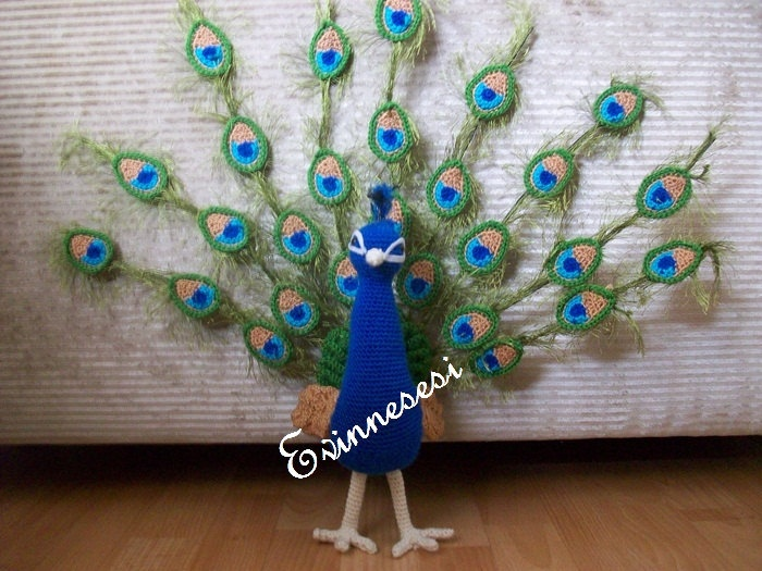 12 Best Peacock Crochet Free Patterns Amp Ideas Images On