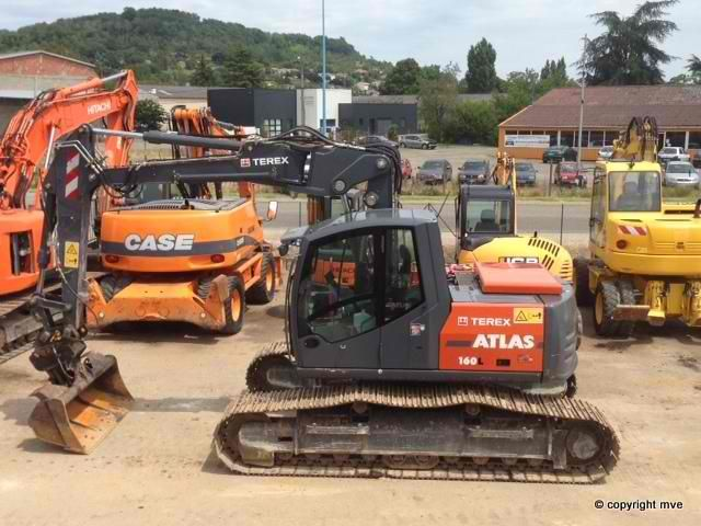 We sell Excavator Atlas Terex LC160 Second Hand. Manufacture year: 2012. Working hours: 2300. Weight: 18000 kg. Excellent running condition. Ask us for price. Reference Number: AC3655. Baurent Romania.