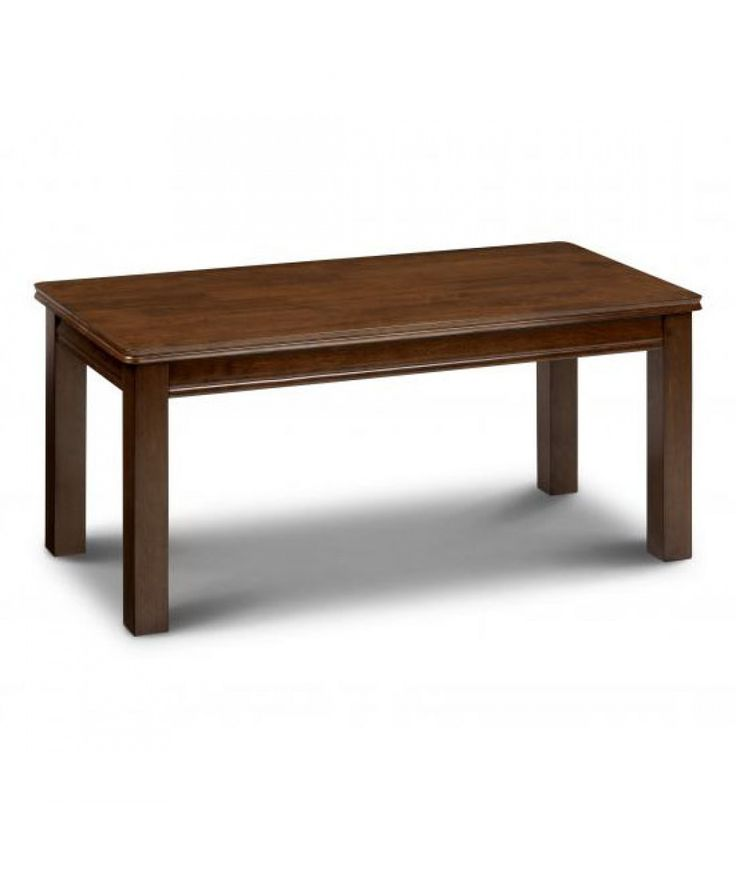 Julian Bowen Offers A Fantastic Range Of Designer Furniture And The Canterbury Mahogany Coffee Table Is No Exception