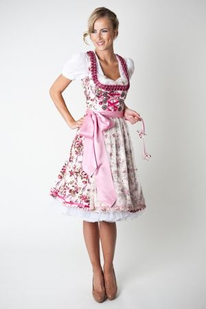 Dirndl Marissa, cream, 3 pcs