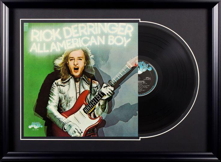 Rick Derringer All American Boy Vintage Album Deluxe Framed