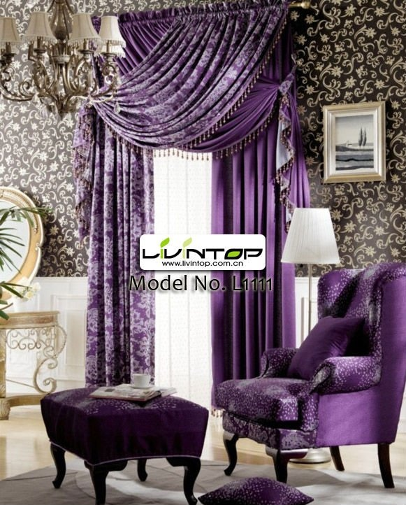 126 best Plushy Purple Curtains images on Pinterest Bedrooms For