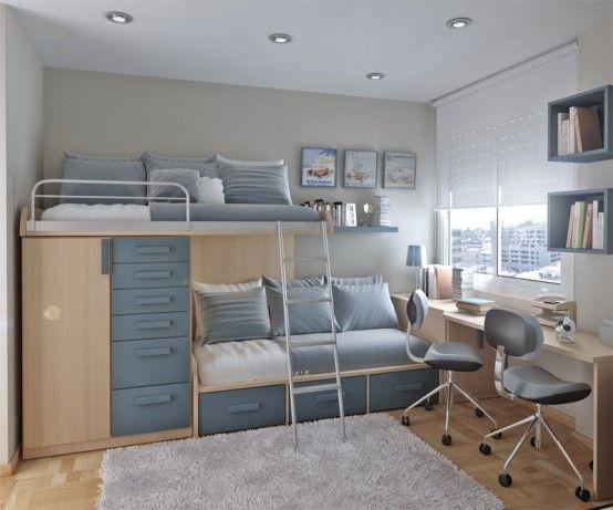 55 Thoughtful Teenage Bedroom Layouts
