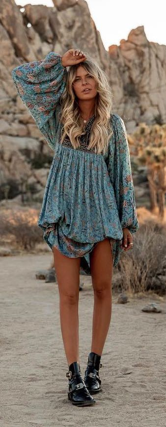 Bohemian dress  #boho #bohemian #gypsy #freespirit #weloveboho