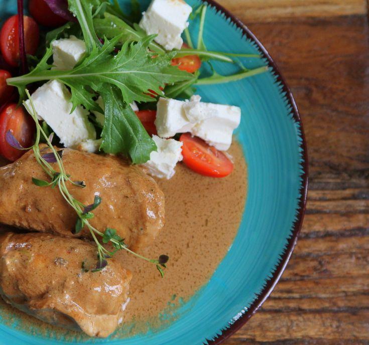 Kycklingrullader med mozzarella & soltorkade tomater - Jennys Matblogg