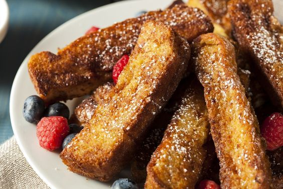 Welcome to my Air Fryer French Toast Soldiers recipe. Did you know that there is such a thing as National French Toast Day and today is that day? I remember growing up and breakfast on a weekend would always be the same. Eggs and soldiers. You would have loads of soldiers and 2 delicious soft boiled eggs to go with them. They were delicious and because of the egg element and the carbs kick it would leave you full for hours and hours. Even though this is not everyone's cup of tea the…