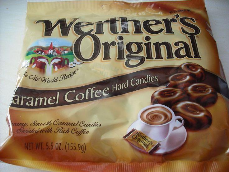 Bag of storck werthers original caramel coffee candy hard