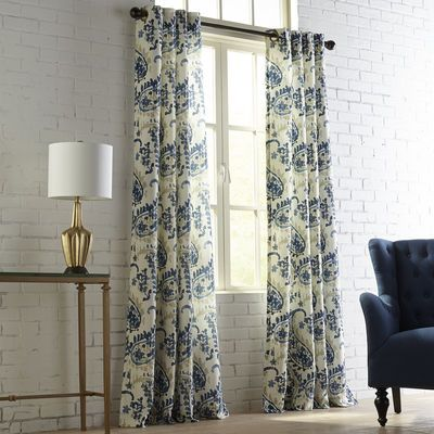 1000 Ideas About Blue Lined Curtains On Pinterest