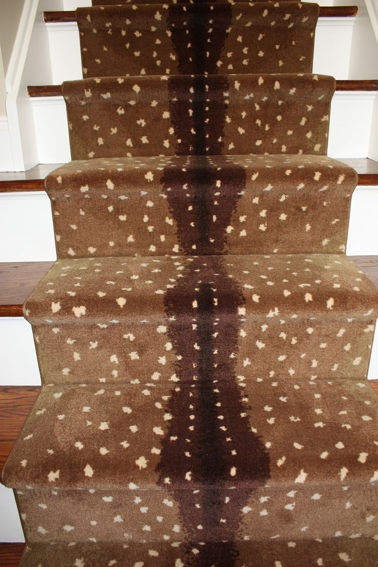 Inspiration In Stages : FOR THE HOME: Antelope Stair Runner
