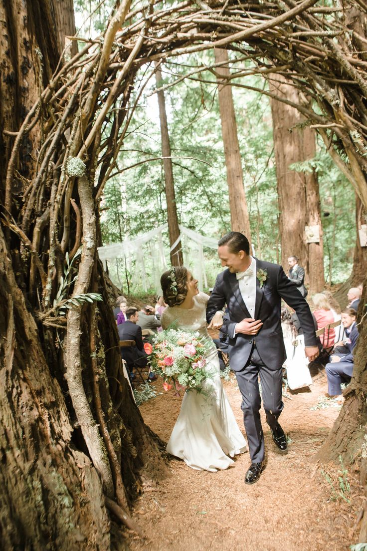 beautiful wedding in the woods, via SMP | Photography: ANA NYC - anaphoto.co