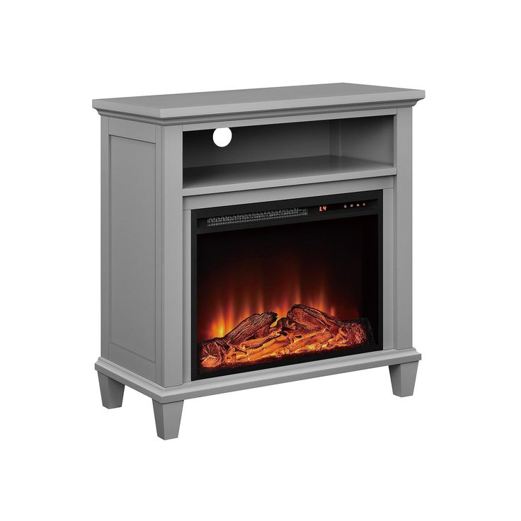 Freestanding Fireplace Real Flame Ashley