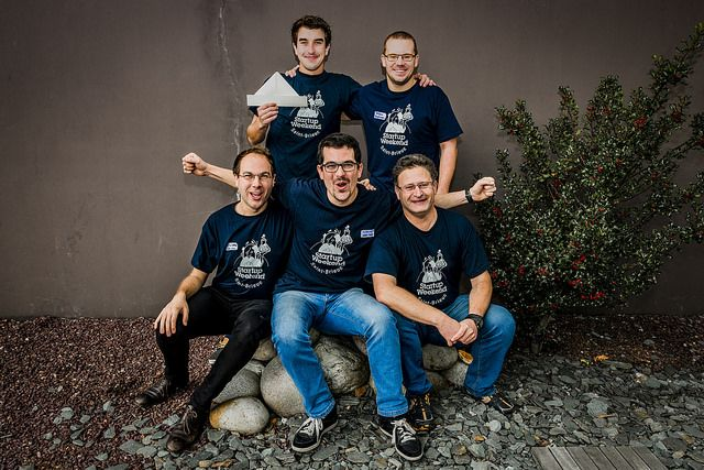 Team Seamply, Startup Weekend Saint-Brieuc