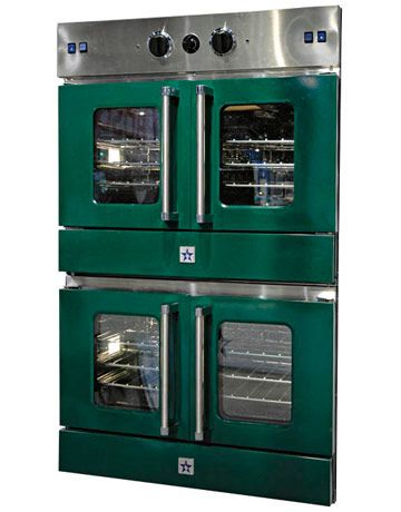 Blue Star Double Gas Wall Oven... oh what i could cook with these babies
