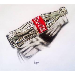 pencil drawing coke bottle - Buscar con Google