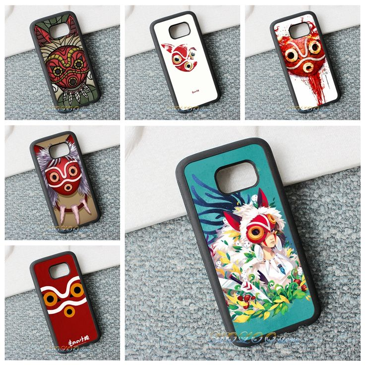 >> Click to Buy << princes mononoke mask art 9 phone case cover for samsung galaxy s3 s4 s5 s6 s7 s6 edge s7 edge note 3 note 4 note 5 #ra845 #Affiliate