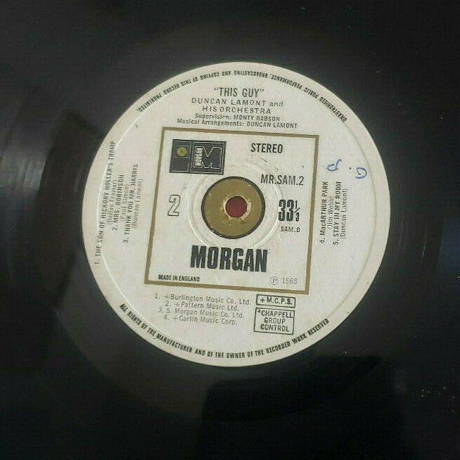 Duncan Lamont His Orchestra Mr Sam 2 This Guy Lp Vinyl 33 Rprm 1968 Morgan In 2020 Lp Vinyl Orchestra Vinyl
