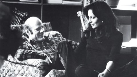 """This is a few months after I met Barry [Diller], at my country house in Connecticut. We have been always in each other's lives, for over 35 years. This is us when we fell in love. It's so romantic, isn't it? You can tell how much we love each other, and we'd just met. Love is like that."""""""