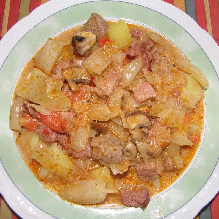 Rezept Bigosch Eintopf - eine polnische Spezialität (m. original) von matschi74 - Rezept der Kategorie Hauptgerichte mit Fleisch