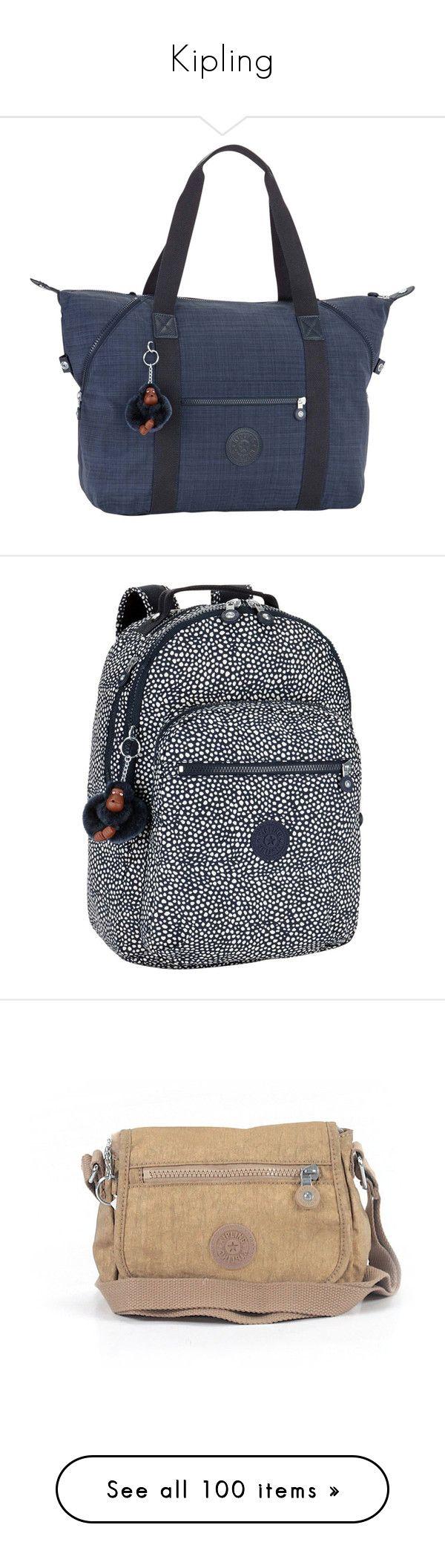 """Kipling"" by angelbrubisc ❤ liked on Polyvore featuring bags, luggage, backpacks, nylon rucksack, backpack laptop bag, laptop bag, lightweight backpack, day pack backpack, handbags and shoulder bags"