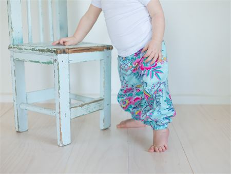 Modern Harem Play Pants Sizes 2-4 Jennifer Paganelli Lucky Girl