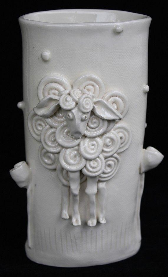 High Quality Cute Clay Vases By Clayfarm. I Like The Idea But Cant Say I Like The