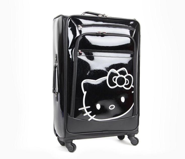 """Hello Kitty 27"""" Suitcase: Chic Travel"""