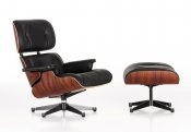 The Lounge Chair & Ottoman, Vitra designers Charles and Ray Eames
