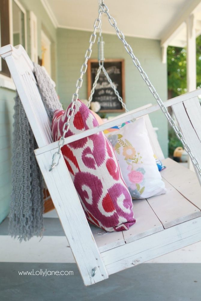 How to hang a porch swing the safe way! DIY fail, porch swing hanging mishap! So...