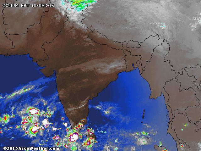 India Weather Satellite Map - AccuWeather.com