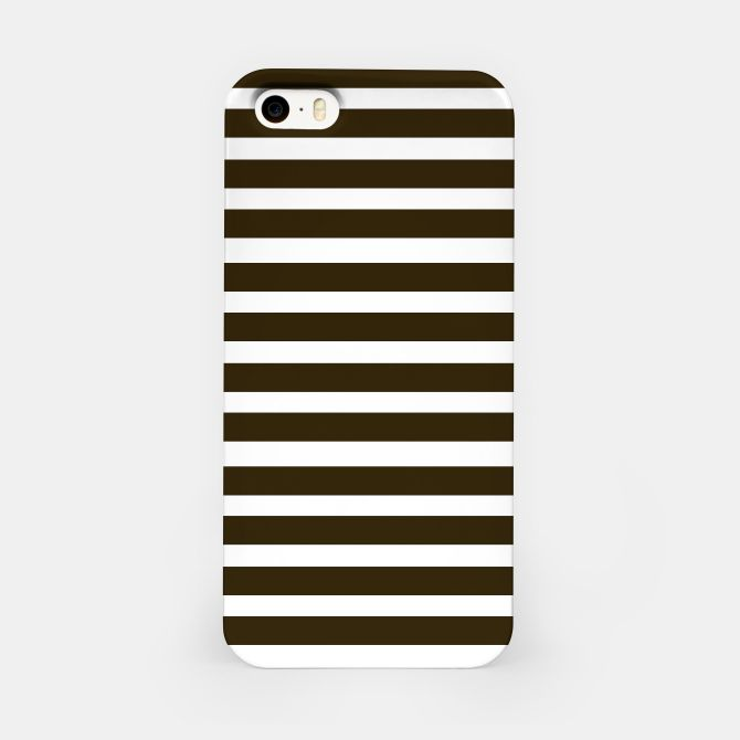 iPhone Case with Black stripes / on white