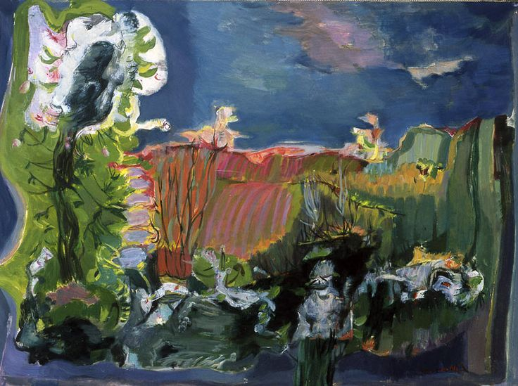 Landscape with Boat - Ligia Macovei - WikiArt.org
