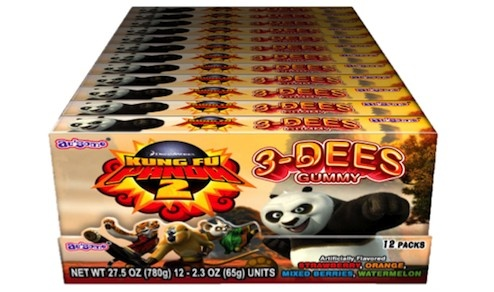 Kung Fu Panda 3-Dees TB (Display)