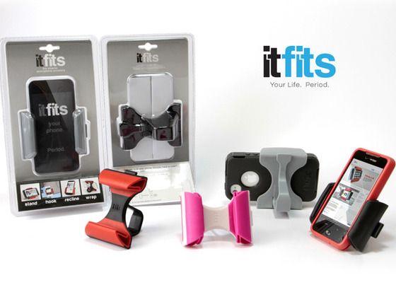 itFits: A Universal Smartphone Accessory by itFits, via Kickstarter.
