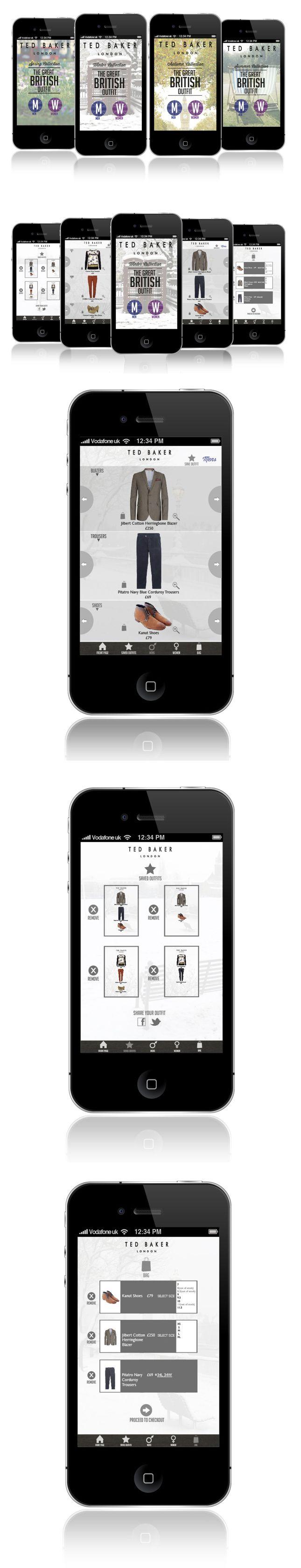 APP Design. UI Mobile. Fashion E-commerce Design.