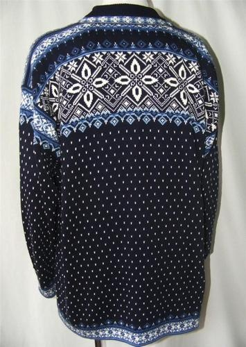 Dale of Norway Classic Nordic Fair Isle Luxe Cotton Knit Cardigan Sweater XL | eBay
