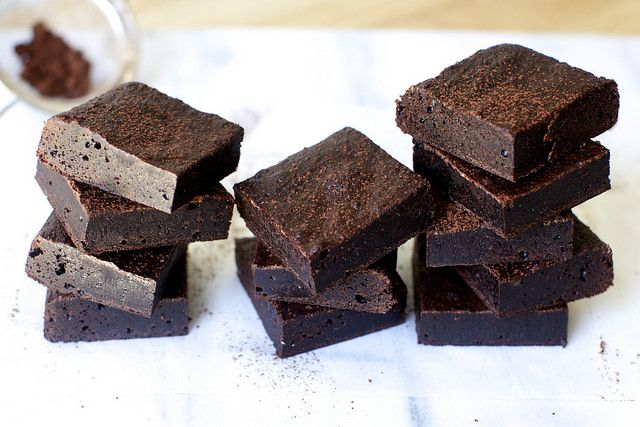 Smitten Kitchen's Best Cocoa Brownies - This is currently my go to brownie recipe...so good!