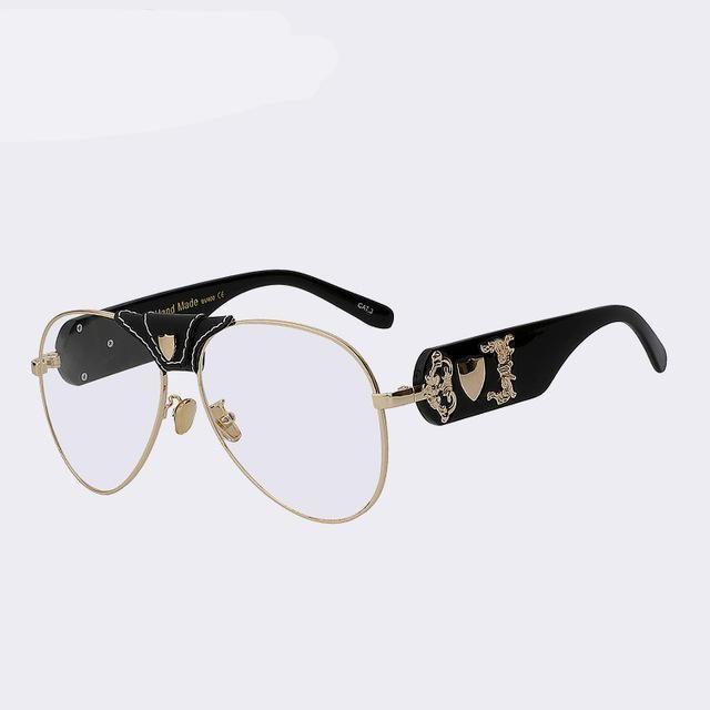 fb0868f19b6b Sunglasses Men Women Brand Designer Glasses Fashion Retro Vintage  Sunglasses Pilot Style High Quality UV400