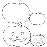 halloween templates   Halloween Pumpkin Template