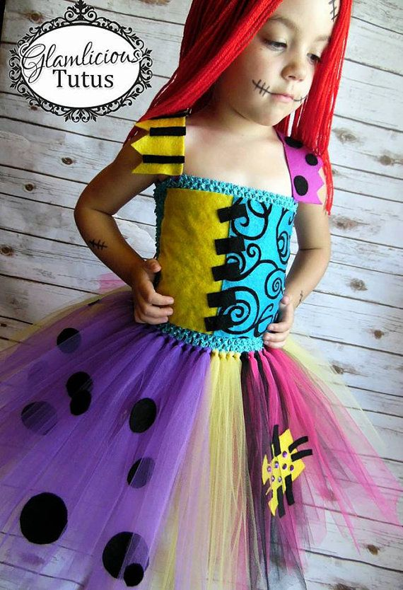 Hey, I found this really awesome Etsy listing at https://www.etsy.com/listing/448736094/sally-inspired-tutu-dress-sally-costume