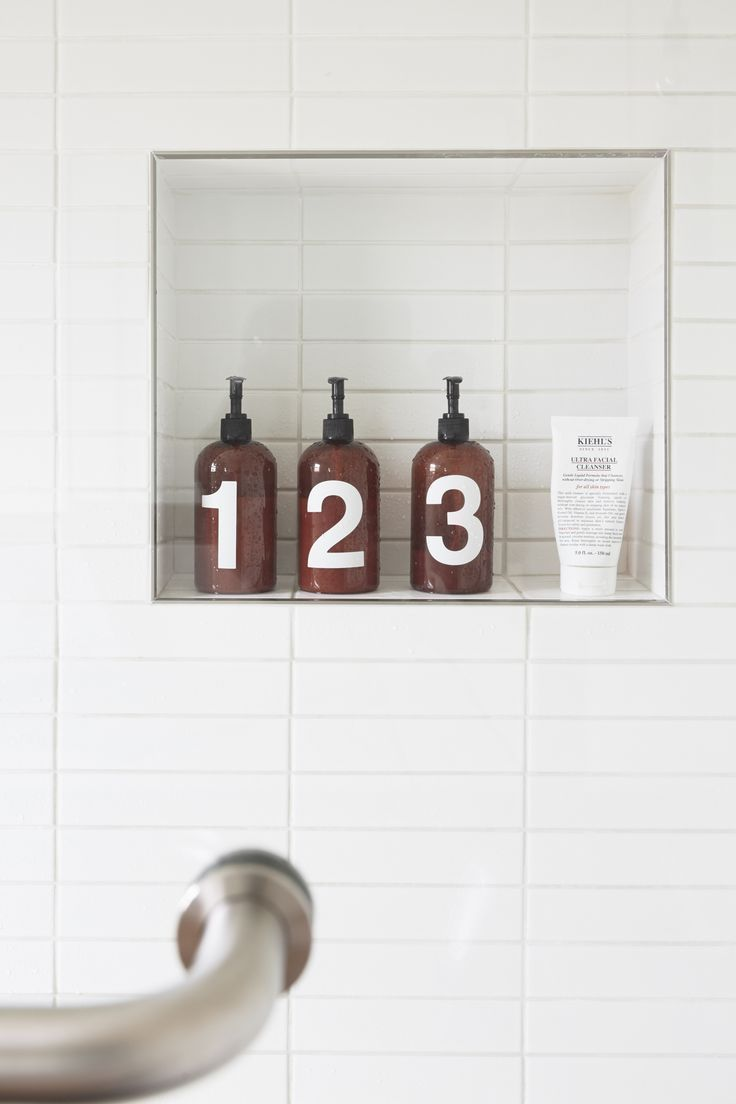 White Vertical Subway Tile /
