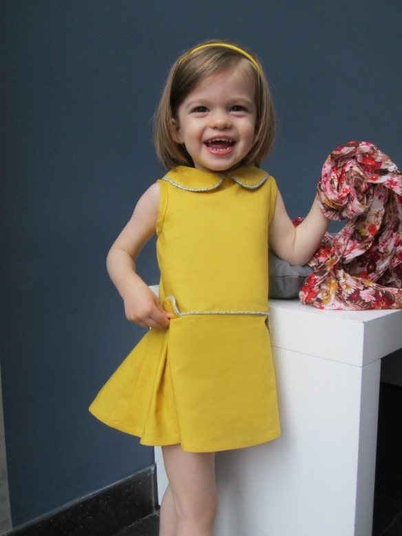 retro dress from new pattern book