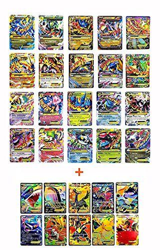 Pokemon Ex 20 Cards Gold Series All Mega: Blue Dragon/ Red Dragon, Rayquaza, Gengar, Lucario all MEGA EX (Set with 10 Special Rare EX Cards)  Pokemon Ex 20 Cards Gold Series All Mega: Blue Dragon/ Red Dragon, Rayquaza, Gengar, Lucario all MEGA EX (Set with 10 Special Rare EX Cards)  This set is contained with 20 Mega EX Cards :  Charizard Blue Dragon X Version), Charizard (Red Dragon Y Version), 2 Version of Rayquaza, 2 Version of Gardevoir, Lucarion, Gengar, Primal Groudon, Primal Kyo...