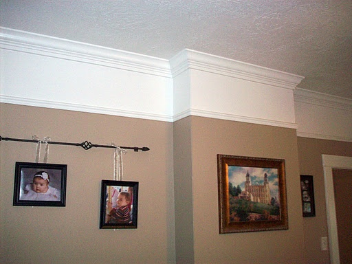 High Chair Rail With 2 Colors Projects Things Even I Could Do Pinterest Master Bedrooms