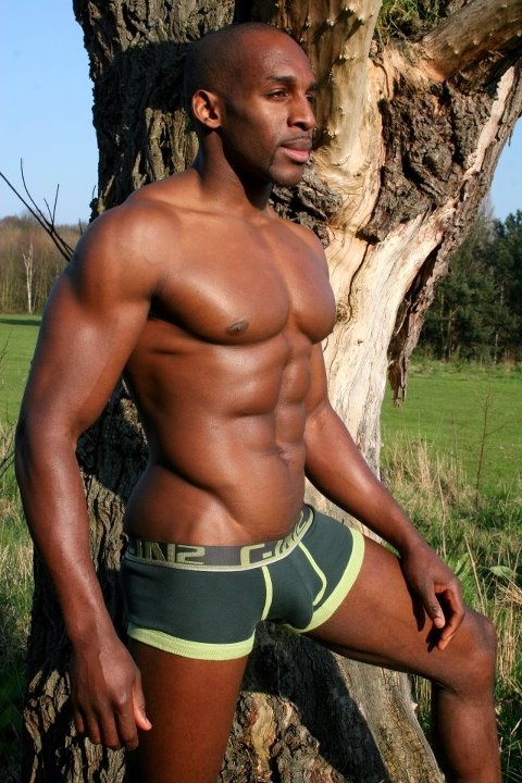 black muscle naked fuck
