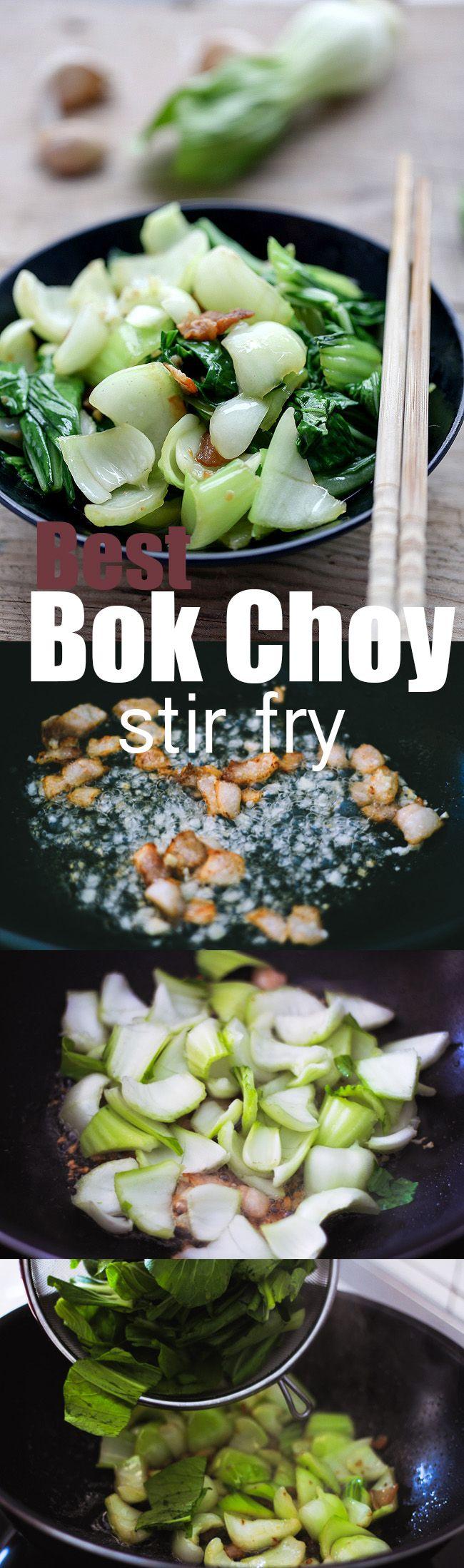 Best Bok Choy Stir Fry
